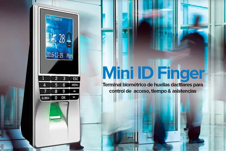 Control de Acceso Mini IDFinger